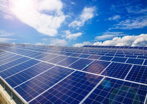 panneau solaire application traitement sous vide